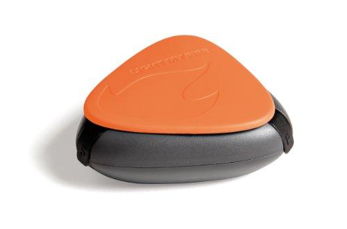 Light my Fire Salt&Pepper Plus Contenant à épices de Poche 3 en 6, Orange, Taille Unique