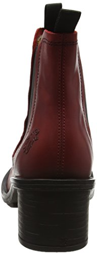 FLY London Damen Coop043fly Chelsea Boots Rot (Red)