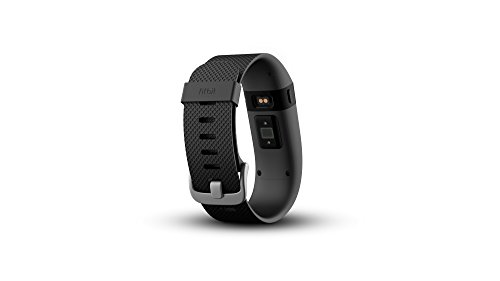 Fitbit Charge HR Heart Rate and Activity Wristband, Small (Black)