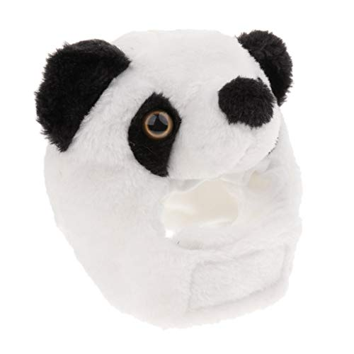 Arten Kostüm Partys Von - FLAMEER Tiere Form Haustier Hund Katze Cosplay Kostüm Hut Geschenk Weihnachten Halloween Party Kostüm Dekorative 4 Arten - Panda