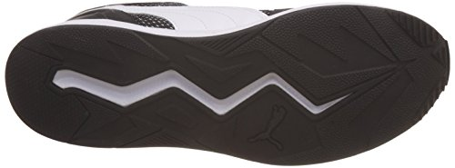 Puma Unisex-Erwachsene Pacer Plus Low-Top Schwarz (puma black-puma white 02)