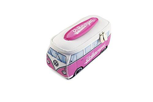 BRISA VW Collection VW T1 Bulli Bus 3D Neopren Mäppchen - Pink