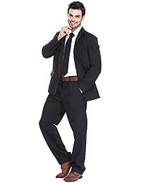 Traje de Hombre 3 Piezas Regular Fit con Chaqueta Pantalones y Corbata Fiesta de Disfraces de
