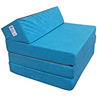 Natalia Spzoo 0811331 Klappmatratze Schlafsofa Schaumstoff, 1331 200 x 70 x 10 cm, blau