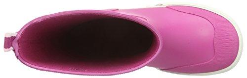Viking Jolly, Bottes en caoutchouc non-fourrées, tige haute mixte enfant Rose - Pink (Fuchsia/White 1701)
