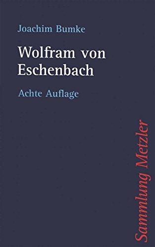 Wolfram von Eschenbach (Sammlung Metzler)