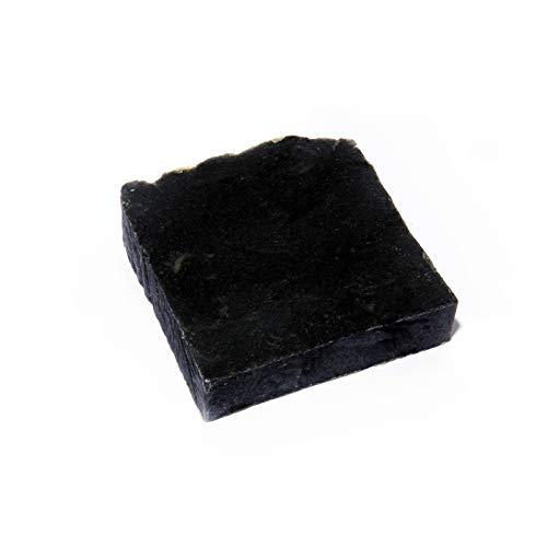 Mijo No.01 Schwarze Seife 100% Naturseife mit Bambus Aktivkohle Bio Olivenöl für Gesicht, unreine Haut, gegen Akne N -