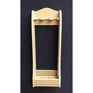 Vertical gun rack cabinet freestanding for 3 guns hand made new