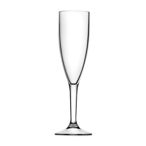 Essentials Flûte à champagne 198,4 gram (20cl) – Résiste au lave-vaisselle Plastique