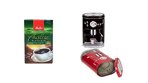Coffee Metall-Kaffeedose + Auslese Klassisch Filterkaffee 500 Gramm
