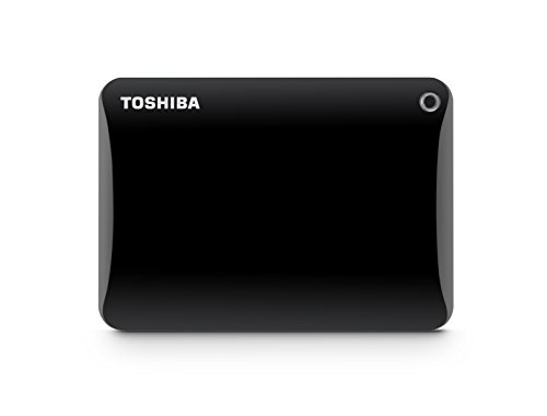 Toshiba CONNECT II 2TB External Hard Disk Black Price in India