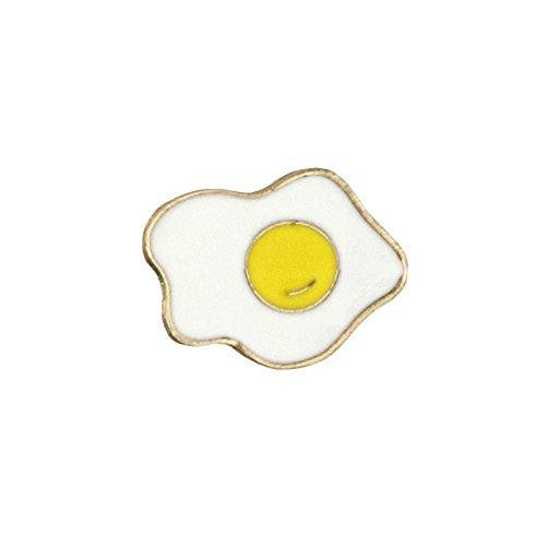 Oeuf Frit Cosplay Metal Pin Badge