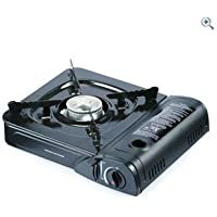 Portable Camping Gas Cooker Stove Hob & Carry Case