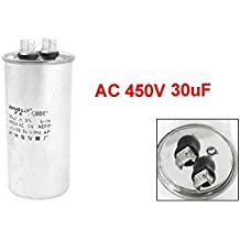 AC 450V 3uF 50 / 60Hz de arranque del motor Condensador CBB60 aparatos de aire acondicionado