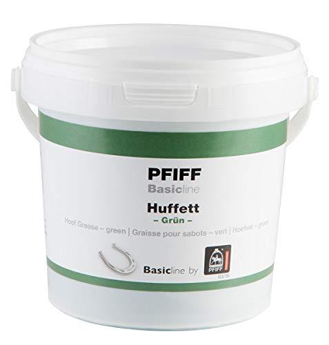 Pfiff Basicline Huffett, Pferde Hufpflege, Lorbeerextrakt, Wachse, grün, 500 g