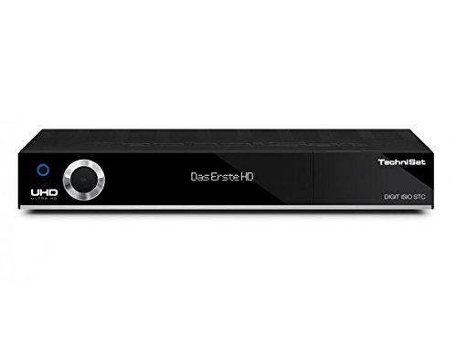 TechniSat Digit ISIO STC, Sat-Receiver mit 3 x Twin-Tuner für Empfang in HD und UHD / 4K, mit WLAN, CI+, USB 3.0, Ethernet und Timeshift-Funktion Schwarz