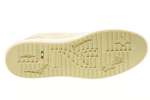 NERO GIARDINI scarpe donna sneakers alte P717241D/410 Platino