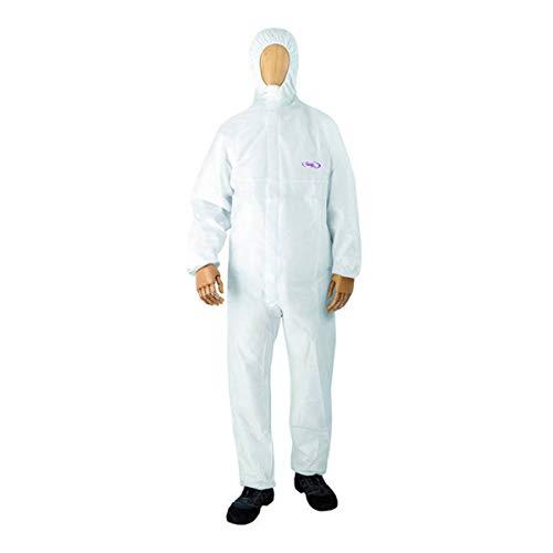 Einwegbekleidung Chemieschutzoverall CoverStar® Kapuze weiß Overall Schutzanzug