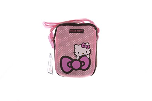 Hello Kitty , Damen Umhängetasche rosa rose (Kitty Handtasche Hello)