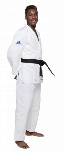 Kappa4judo atlanta, judogi unisex - adulto, bianco, 3/160 cm