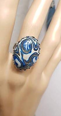 parure bleu
