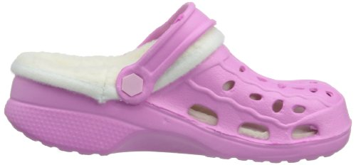 Playshoes - Playshoes Eva-Clog Gefüttert, Zoccolo infantile Rosa (Rosa (rose 14))