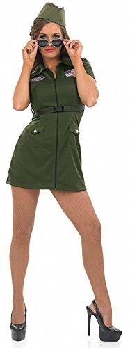 Fun Shack Damen Costume Kostüm Womens Aviator Pilot, Größe ()