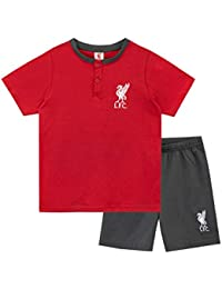 Premier League Pijamas de Manga Corta para niños Liverpool F.C.