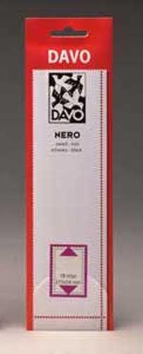 Preisvergleich Produktbild DAVO 21041 Nero Streifen N41 (215 x 45) 18 Stück