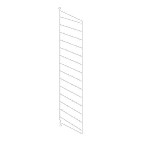 String - Wandleiter Regal 75 x 30 cm, weiß
