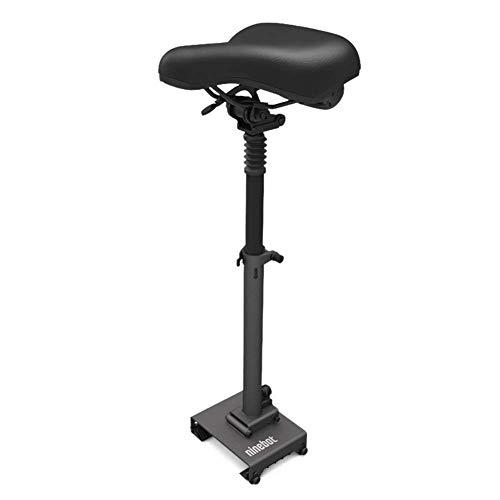 TOOSD Elektroroller, Erwachsenenroller ES1 ES2 Ninebot No. 9, tragbares Zweirad-Klappsystem, Geschwindigkeit bis zu 25 km/h, Batterie 187WH, Digitale LED-Anzeige, Last 100 kg, Skateboard,Seat