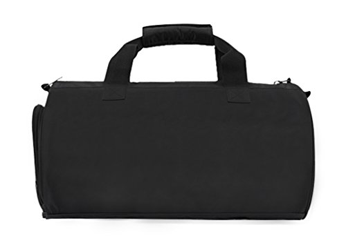 FakeFace Sporttasche Barrel Bag Training Bag Gym Fitness Tasche Fahrradtasche Reisetasche Umhängetasche Gepäcktasche 41 x 26 x 26 CM Grau