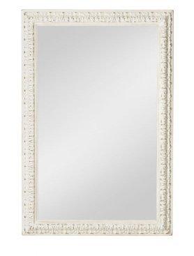 Specchiera di legno stile vintage con fregi disponibile in diverse rifiniture L'ARTE DI NACCHI SP-143