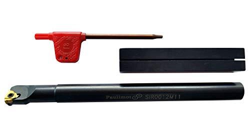 PAULIMOT Bohrstange für metrische Innengewinde mit Wendeplatte SIR0012M11 - 2
