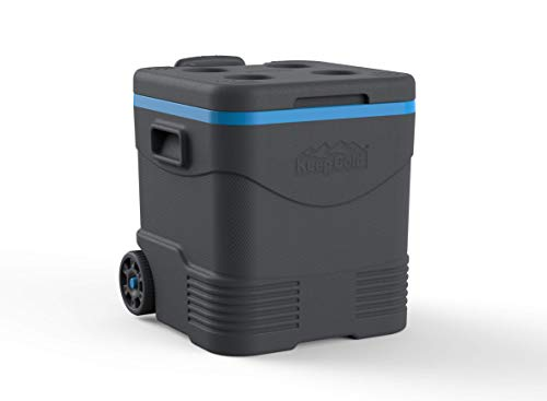 Duramax Trolley Ice Box 30L Eisbox, Anthracite and Blue