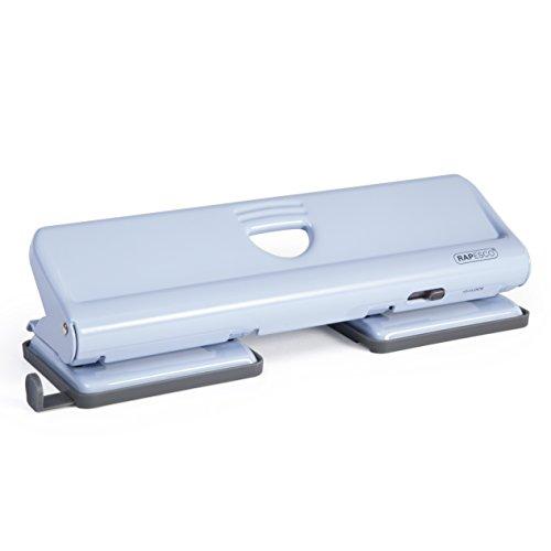 Rapesco 1348 Metalllocher 720 4-fach Locher (bis zu 22 Blätter) Blau