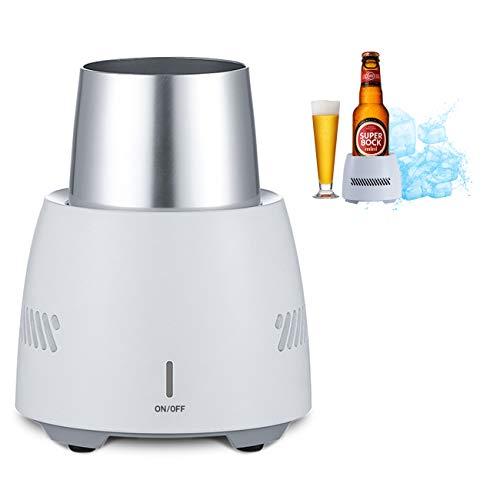 The perseids Bier-Kühlschrank Desktop Getränkekühler, Tragbar Kühlung Cup Große Kapazität für Wasser, Bier, Limonade, Cola, Saft, Wein und Getränke - Schnelle & Intelligente Kühlung (UK Plug) Groß-saft