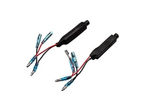 Resistenze, resistenza per frecce LED, mini indicatore di direzione ATV 25 V 10 Ohm, 2 pezz