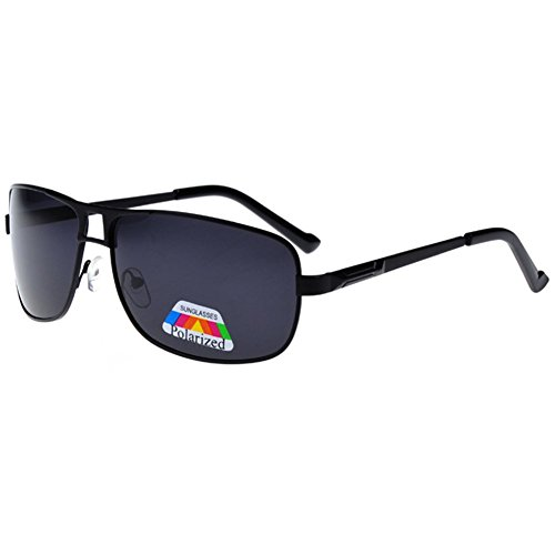 Z-P Men's Outdoor Sports New Style Driving Fishing Glasses Night Vision Polarized Lens Double Beam Toad Sunglasses 63MM
