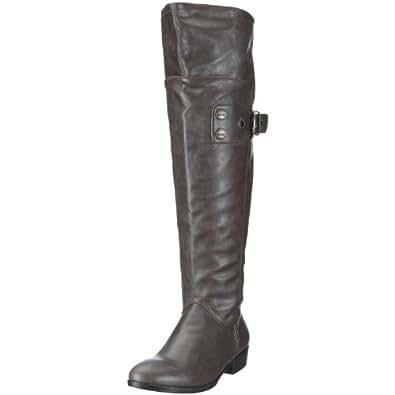 Mustang 3049-501 Damen-Stiefel, Damen Stiefel, Braun (kaffee 306), EU 36