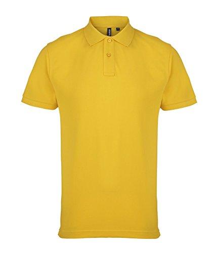 Herren-Polo-Hemd von Asquith und Fox - 24 Farben / Größe SML-3XL Sunflower