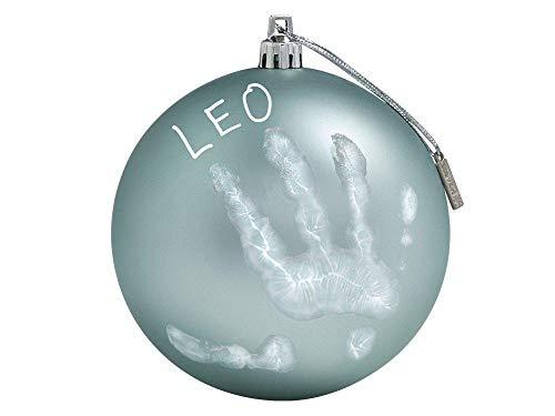 ugel mit Handabdruck, 0M+, 10cm, My Christmas Fairy, mint-grün ()