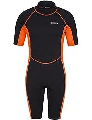 Mountain Warehouse Combinaison Short Homme Plongée Sport Aquatique Néoprène Confort Séchage Rapide