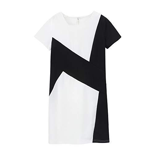 Elecenty Damen Bleistift-Kleid Jersey-Kleid Frauen Langarm Bürokleid Bodycon Etuikleid Midikleid Abendkleid Partykleid