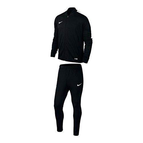 Nike academy16 yth knt tracksuit 2, tuta sportiva ragazzo, multicolore (nero/bianco), s