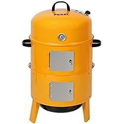 Perel BB100200 Fumoir, Orange, 46x46x26,5 cm