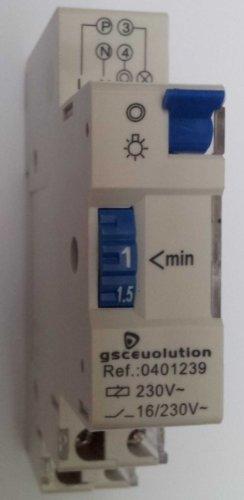 0401239 - Minuterie automatique pour éclairage d'escalier ou de voie DIN