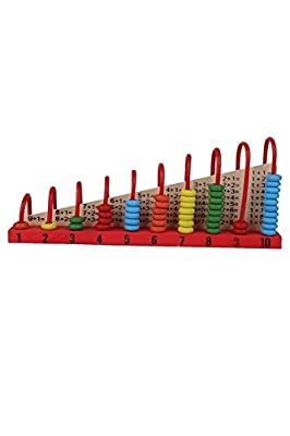 YOIL Lovely Kids Educational Intelligence Toy Wood Abacus Maths Counters from YOIL