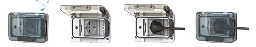 Zoom IMG-2 4box wide ip55 presa impermeabile