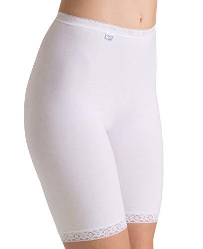 Sloggi Damen Slip Basic + Long, Weiß (White 03), Gr. 42 -